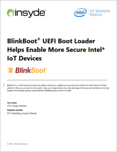 Blinkboot UEFI Boot Loader Helps Enable More Secure Intel IoT Devices