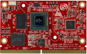 Embedded Artists IMX8M COM board