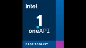Intel oneAPI Base Toolkit
