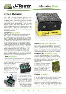 J-Tester info sheet