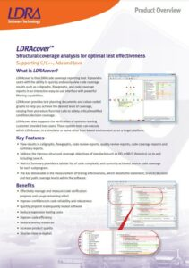 LDRAcover Product Overview