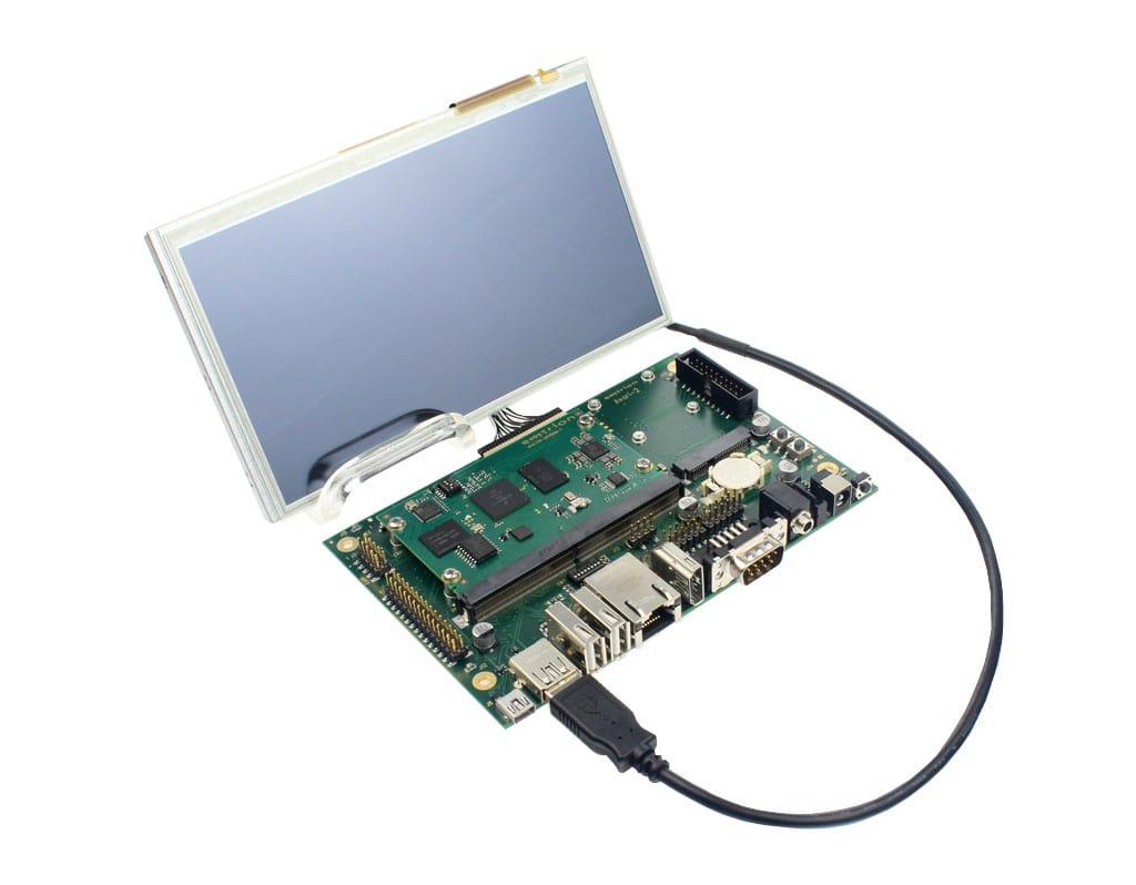Starterkit_emCON-MX8MM-Avari_Display
