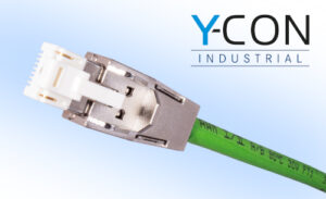 IP20 Metal Cover: Y-Con Cover 20-TC for RJ45 Y-Con Plugs with Piercing Contacts